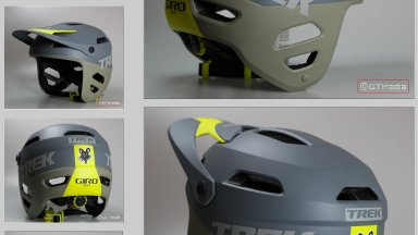 Giro Tyrant helmet re-spray