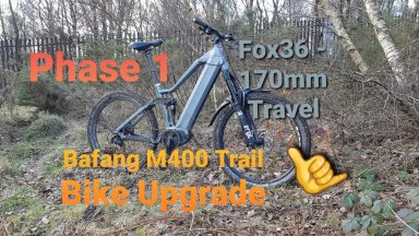#Bafang - Let the Upgrades begin with the Bafang Max Drive M400 trail bike build 🤙
